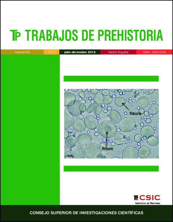 Granos de almidón del género Triticum al microscopio óptico (pág. 339)