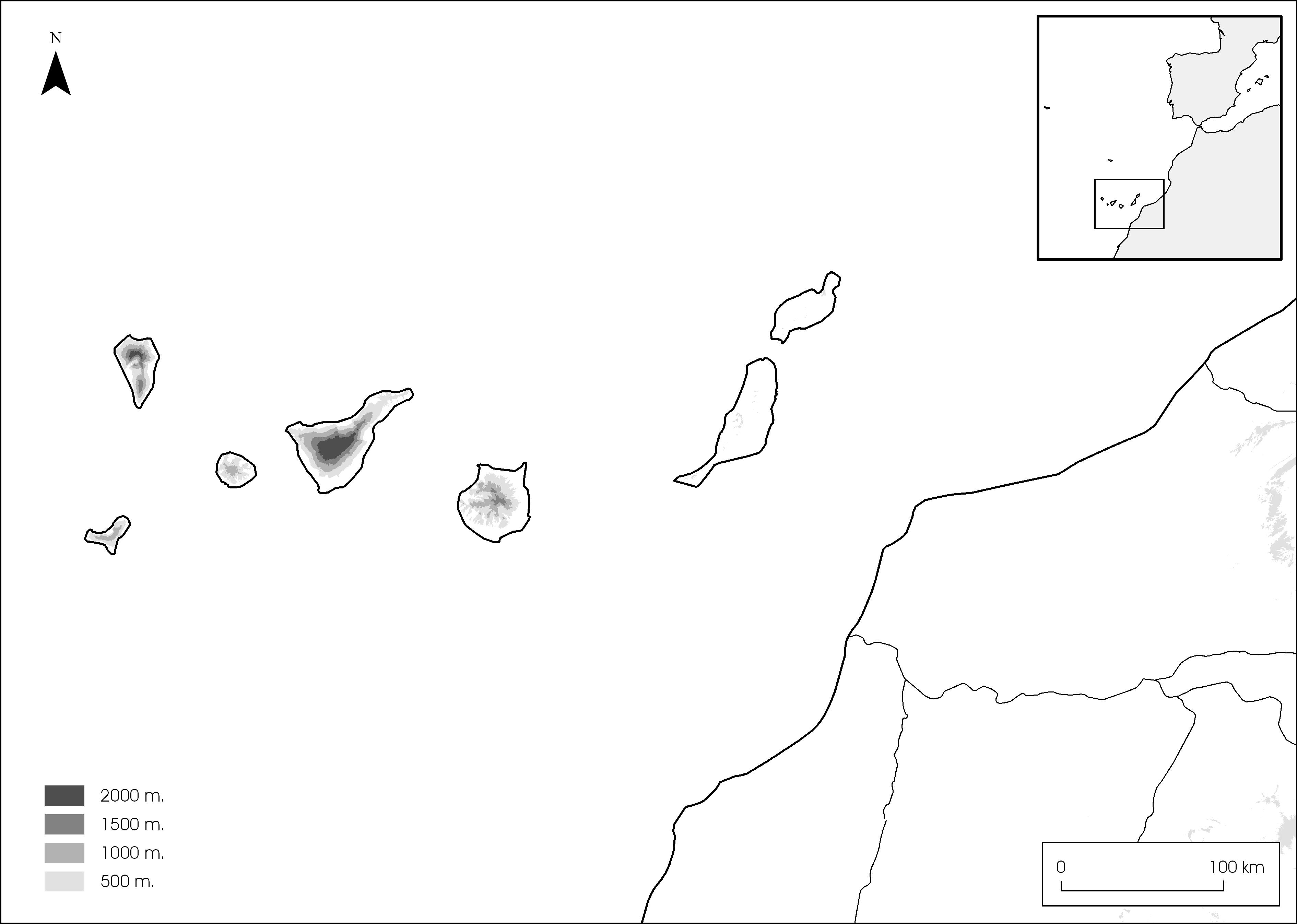 Tamaño Islas Canarias Islas Canarias